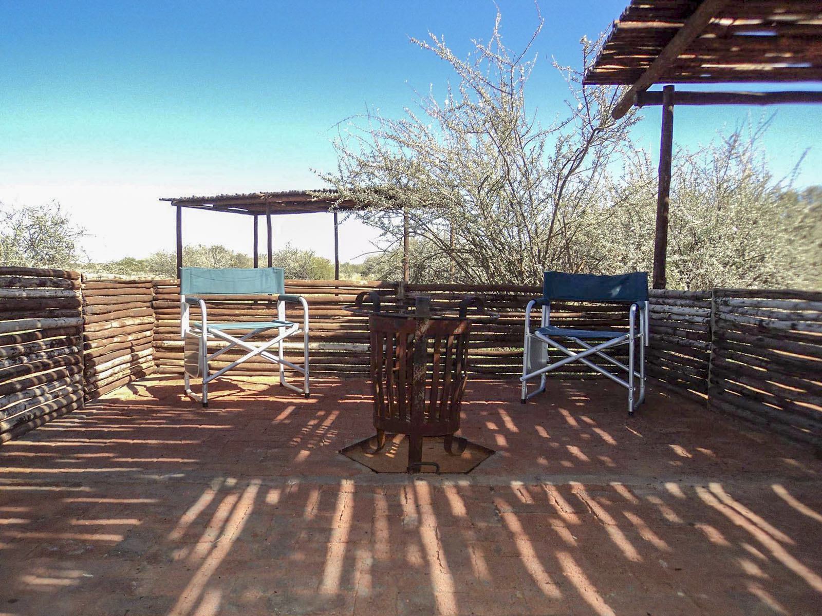 Camp area and Braai